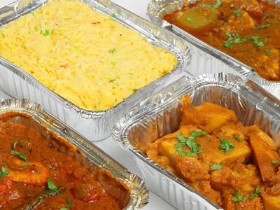Verpakken van kant-en-klaarmaaltijden